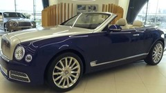 Bentley dévoile son premier grand cabriolet