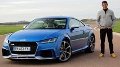 Essai Audi TT RS par Soheil Ayari: survivor