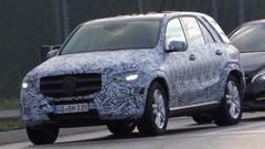 Mercedes : le futur GLE piégé