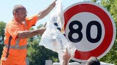 80 km/h sur les routes à deux voies, c'est fait !