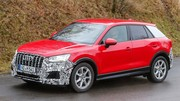 L'Audi SQ2 en phase d'approche