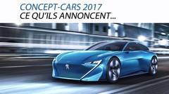 Concept-cars 2017 : Ce qu'ils annoncent…