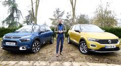 Essai Citroën C4 Cactus vs Volkswagen T-Roc : premier face à face en vidéo