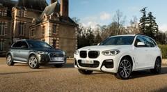 Essai comparatif : le BMW X3 (2018) défie l'Audi Q5