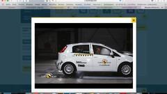 Fiat : zéro étoile pour la Punto aux crash-tests Euro NCAP