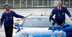 Bruno Le Maire et Carlos Ghosn officialisent la renaissance d'Alpine