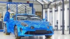 Les coulisses de la fabrication de la nouvelle Alpine A110 en vidéo