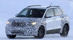 Le petit SUV Volkswagen T-Cross se fait surprendre