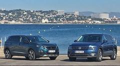 Essai Peugeot 5008 vs Volkswagen Tiguan AllSpace : Puissance 7 !