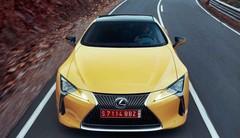 Lexus LC-F : Construite pour dépasser la LFA