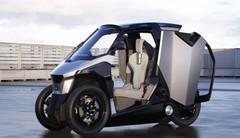Peugeot EU-LIVE : le scooter hybride à quatre roues de Peugeot