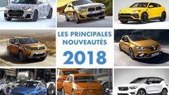 Guide Auto des principales nouveautés 2018