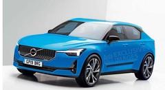 Volvo : la future V40 se dessine