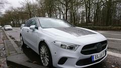 La Mercedes Classe A en vadrouille à Bruxelles