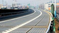La Chine ouvre une autoroute solaire