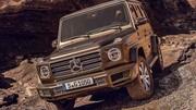 Fuite : les images du nouveau Mercedes Classe G