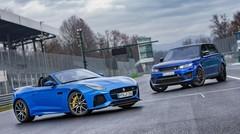 Essai Jaguar F-Type SVR et Range Rover SVAutobiography Dynamic : personnalisation maison