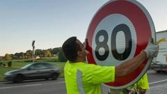 80km/h sur route: le gouvernement en pleine salade de chiffres