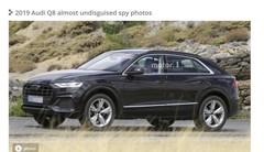 L'Audi Q8 surpris presque sans camouflage
