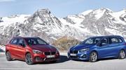 Les BMW Série 2 Active et Gran Tourer s'offrent un discret restylage