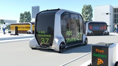 Toyota e-Palette : le chariot autonome à tout faire