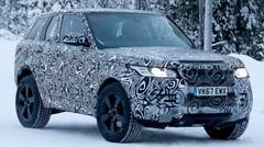 Le mulet du futur Land Rover Defender de sortie
