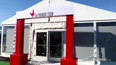 """La French Tech : la """"Start-up Nation"""" chère à E.Macron a fait le déplacement"""