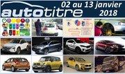 Résumé Auto Titre du 02 au 13 janvier 2018