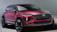 Hyundai Santa Fe : esquisses officielles