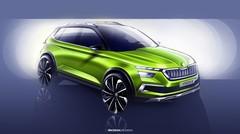 Skoda Vision X : concept de crossover urbain hybride