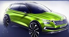 Skoda Vision X : un concept pour annoncer un petit SUV