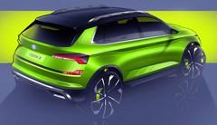 Skoda Vision X : un concept de SUV urbain au salon de Genève 2018
