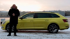 Emission Turbo : La Skoda Superb Combi à Saint Petersbourg