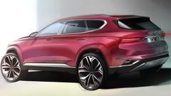 Hyundai Santa Fe 2018 : premiers dessins du nouveau Santa Fe