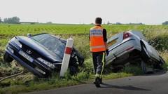 Baisse de la mortalité routière en 2017, mais pas du nombre d'accidents