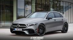 Mercedes-AMG A45 (2019) : la Mercedes Classe A AMG sera hybride !