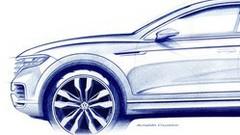 Volkswagen Touareg 3 (2018) : Première esquisse un nouveau Touareg sur un air de Cayenne