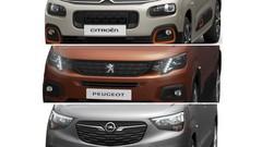 PSA dévoile les Citroën Berlingo, Opel Combo et Peugeot Partner