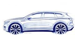 Volkswagen Touareg 3 (2018) : première mondiale le 23 mars à Pékin