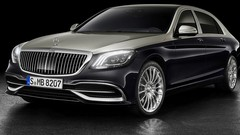 Mercedes-Maybach Classe S : calandre rayée
