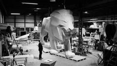 Le lion de Peugeot s'érige en monument