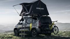 Salon de Genève 2018 - Peugeot Rifter 4x4 concept: pour campeurs sportifs
