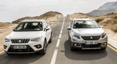 Essai comparatif SUV : le Seat Arona défie le Peugeot 2008 essence