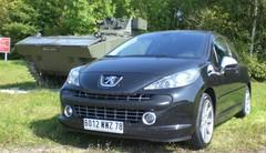 Marche arrière : La Peugeot 207 RC