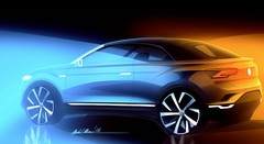 Volkswagen T-Roc cabriolet : début de la production en 2020