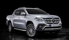 Mercedes: le pick-up Classe X adopte un V6 diesel