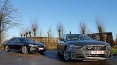 Essai Audi A8 50 TDI vs BMW 730 d xDrive: En quête de reconnaissance