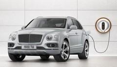 Bentley Bentayga hybride : chargeur Philippe Starck