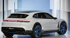Porsche Mission E Cross Turismo : Porsche s'essaie au SUV-coupé électrique
