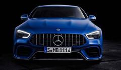 Mercedes dévoile la berline AMG GT